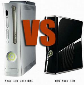 Xbox 360 fat VS Xbox 360 slim