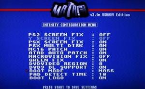 Сервисное меню модчипа Modbo 760,4.0,5.0